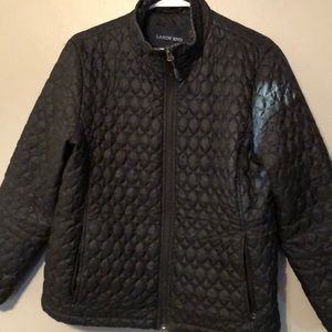 LANDS END black jacket